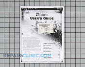Manual, use & care - Part # 1069612 Mfg Part # 62620660
