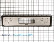 Backsplash panel - Part # 1087065 Mfg Part # WB36K10442