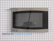 Microwave Oven Door - Part # 1087812 Mfg Part # WB56X10387