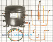 Compressor & Sealed System - Part # 1093763 Mfg Part # WR87X10103