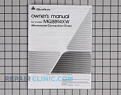 Instruction manual mq8894xw - Part # 1156590 Mfg Part # IBMQ8894XW