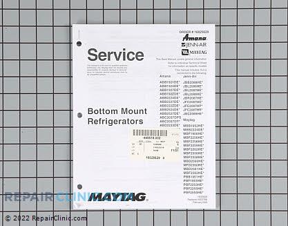 Repair Manual 16025629 Main Product View