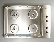 Metal Cooktop - Part # 1167996 Mfg Part # WB62T10378