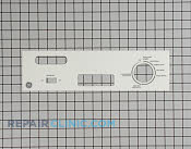 Control  Panel - Part # 1168443 Mfg Part # WD34X11182