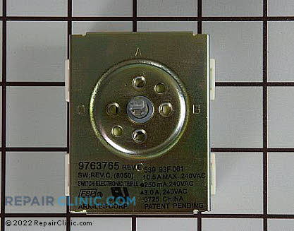 Surface Element Switch 9763765 Main Product View