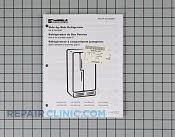 Manual, use & care - Part # 1186654 Mfg Part # 67005605