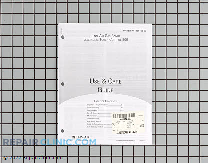 Manuals, Care Guides & Literature 8113P463-60 Main Product View