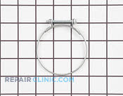 Hose Clamp - Part # 1196086 Mfg Part # 134737300
