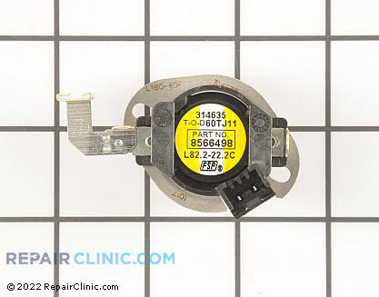 High Limit Thermostat 8566498 Main Product View