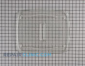 Glass Tray - Part # 1256944 Mfg Part # 3390W0A001B