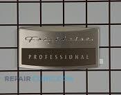 Nameplate - Part # 1259385 Mfg Part # 241808801