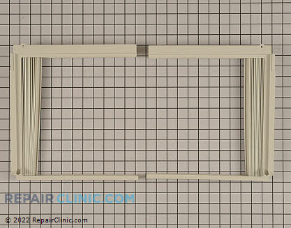 Window Side Curtain and Frame 5304460172 Main Product View