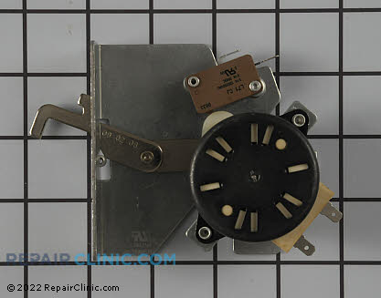 Door Lock Motor and Switch Assembly WB02K10136 Main Product View