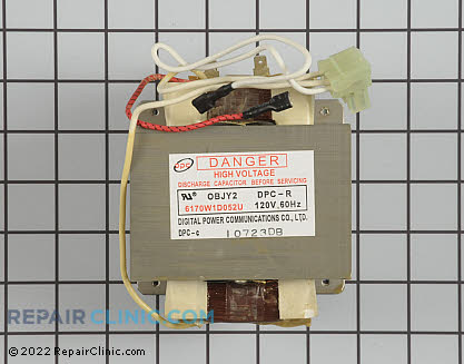 High Voltage Transformer WB27X10929 Main Product View