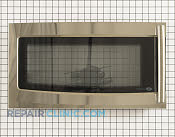 Microwave Oven Door - Part # 1268491 Mfg Part # 3581W1A466L
