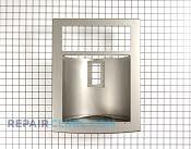 Dispenser Façade - Part # 1306987 Mfg Part # 3550JA0116B
