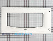 Microwave Oven Door - Part # 1314362 Mfg Part # 3720W0D295D