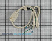 Power Cord - Part # 1352381 Mfg Part # 6411A20056P