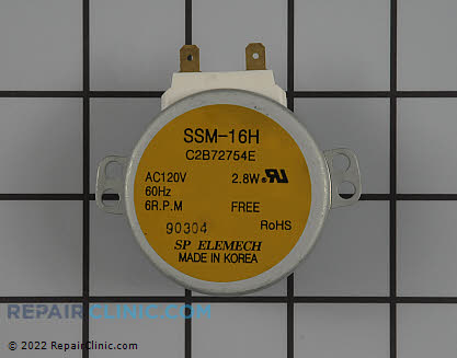 Turntable Motor 6549W1S013A Main Product View