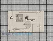 Manuals, Care Guides & Literature - Part # 1370660 Mfg Part # MBM38968801