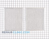 Grease Filter - Part # 1373057 Mfg Part # S97017455