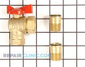 Gas Burner & Control Valve - Part # 2304660 Mfg Part # M4983P3
