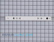 Drawer Slide Rail - Part # 1379355 Mfg Part # 241809101
