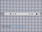 Drawer Slide Rail - Part # 1379355 Mfg Part # 241809101