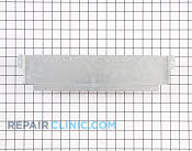 Shield,upper rear ,lower ,mini oven - Part # 1379968 Mfg Part # 316513700