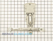 Dishrack Roller and Adjuster - Part # 1394406 Mfg Part # W10153530