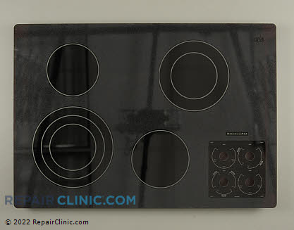 Glass Cooktop W10140987 Main Product View
