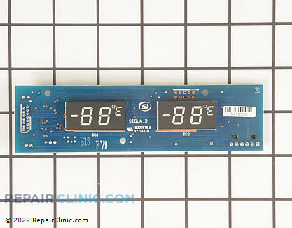 User Control and Display Board 240596704       Main Product View