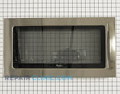 Microwave Oven Door - Part # 1549082 Mfg Part # W10247773