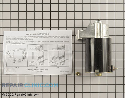 Starter Motor 497596          Main Product View