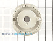 Surface Burner Base - Part # 1598766 Mfg Part # MBE61842701