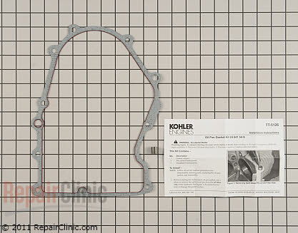 Oil Pan Gasket 24 041 54-S Main Product View