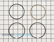 Piston Ring Set - Part # 1602656 Mfg Part # 24 108 15-S