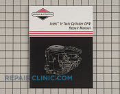 Repair Manual - Part # 1605381 Mfg Part # 273521