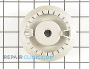 Surface Burner Base - Part # 1555675 Mfg Part # MBE61842001