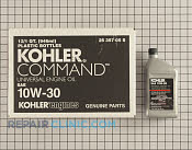 Kohler Command Engine Oil - Part # 1602737 Mfg Part # 25 357 05-S