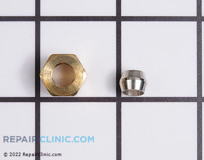 Brass Compression Coupler 10244904        Main Product View
