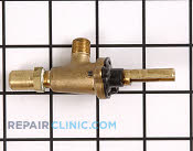 Gas Burner & Control Valve - Part # 698764 Mfg Part # 72001112