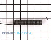 Oven Door Spring - Part # 268555 Mfg Part # WB9K5012