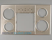 Metal Cooktop - Part # 1096284 Mfg Part # 00143081