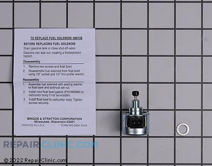 Fuel Shut-Off Solenoid 699728          Main Product View