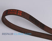 Belt: V-Belt - Part # 1668817 Mfg Part # 37X113MA