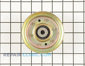 Flat Idler Pulley - Part # 1659853 Mfg Part # 173438