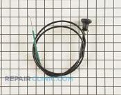 Choke Cable - Part # 1668844 Mfg Part # 776113MA