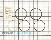 Piston Ring Set - Part # 1610066 Mfg Part # 232575-S
