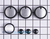 Control Knob Kit - Part # 1019052 Mfg Part # 00414201
